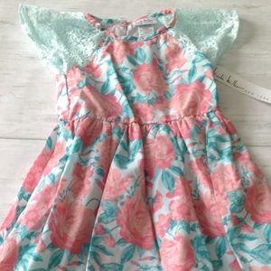 Nicole Miller Toddler Floral Dress Size 3T